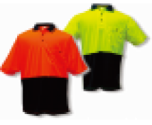 Polo Shirt - two tone day use, short sleeve