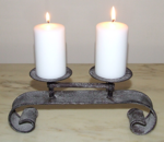 Duo Candle Scroll