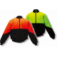 Flying Jacket - high vis orange or yellow, Black or Navy