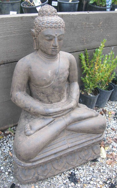 Small Lotus Sitting Buddha